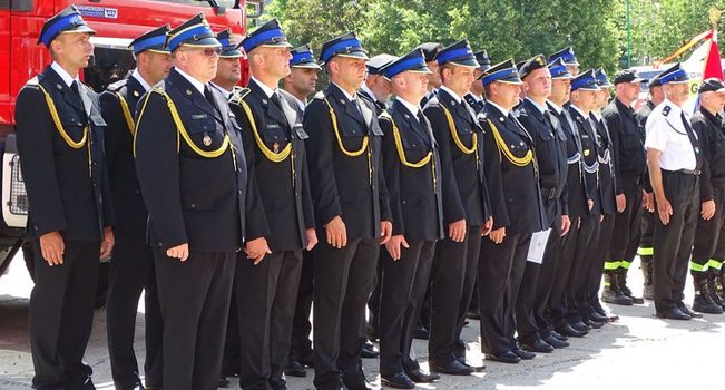 Powiatowe obchody Dnia Strażaka.